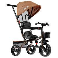 Велосипед трехколесный Micio Gioia, колеса EVA 10'/8', цвет коричневый