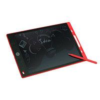 Планшет для рисования и заметок LuazON LC-03, 12', функция блокировки, красный