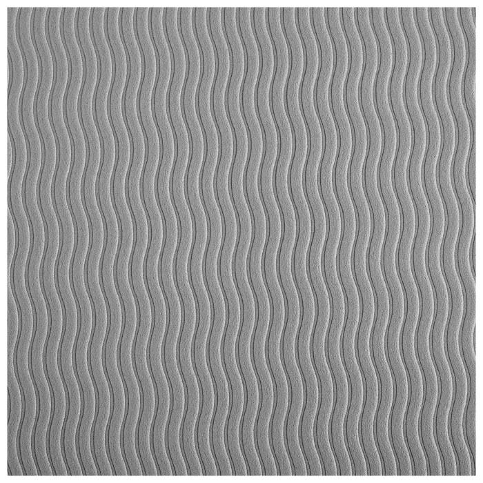 Коврик для йоги TORRES Comfort 4, TPE, 173 x 61 x 4 мм, нескользящее покрытие, цвет зелёный/серый - фото 5