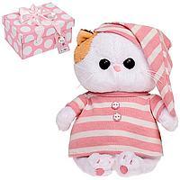 Мягкая игрушка 'Кошечка Ли-Ли BABY', в полосатой пижамке, 20 см