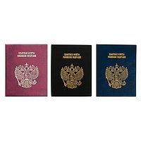 Альбом для монет на кольцах 225 х 265 мм Calligrata, 'Памятные монеты РФ', обложка искусственная кожа, 9