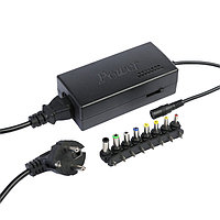 Универсальное зарядное устройство для ноутбука Luazon ZU10, 120 Вт, с переходниками 8 шт