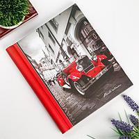 Фотоальбом магнитный 23Х28 см 10 листов 'Красная машина'