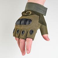 Перчатки тактические хаки Краги L