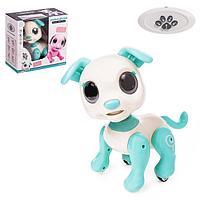 Робот-собака 'Питомец Щенок', световые и звуковые эффекты, цвет бирюзовый