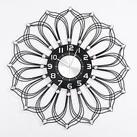 Часы настенные, серия Ажур, 'Пильо', плавный ход, 59 х 59 см, d циферблата22 см