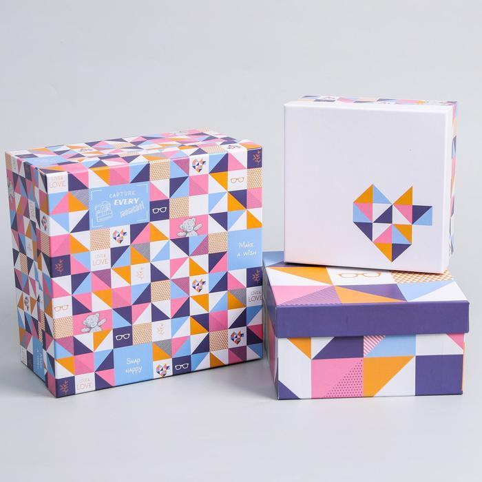 Набор коробок 5 в 1 'Геометрия', Me To You - фото 2