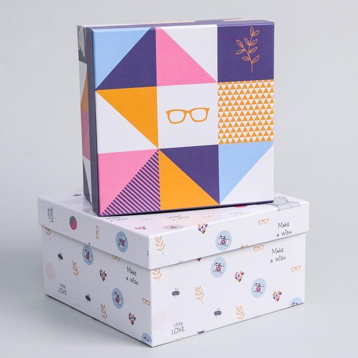 Набор коробок 5 в 1 'Геометрия', Me To You - фото 3
