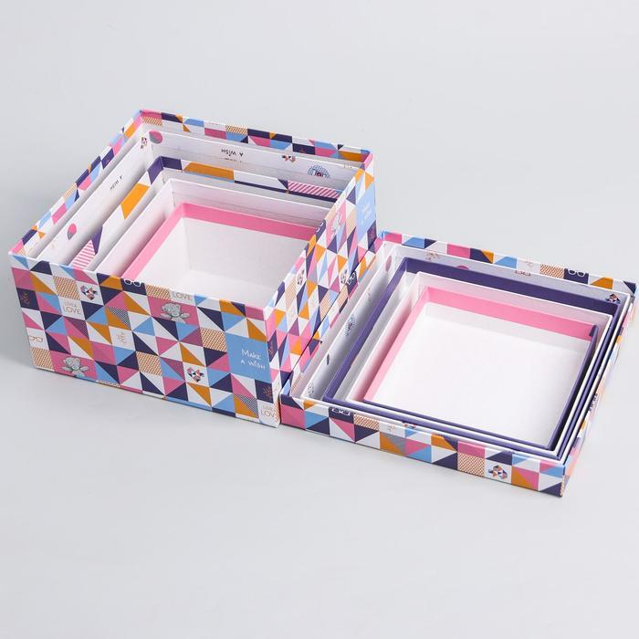 Набор коробок 5 в 1 'Геометрия', Me To You - фото 5