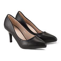 Туфли женские Meitesi, цвет чёрный, размер 35