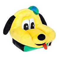 Мягкая игрушка 'Кресло Собака Шарик', цвет жёлтый