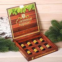 Подарочный набор 100 аромамасел 'Лучшему банщику', по 10 мл