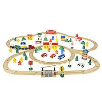 Набор железная дорога 'Городок' 100 деталей