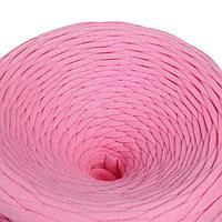 Трикотажная лента 'Лентино' лицевая 100м/320±15гр, 7-8 мм (розовый)