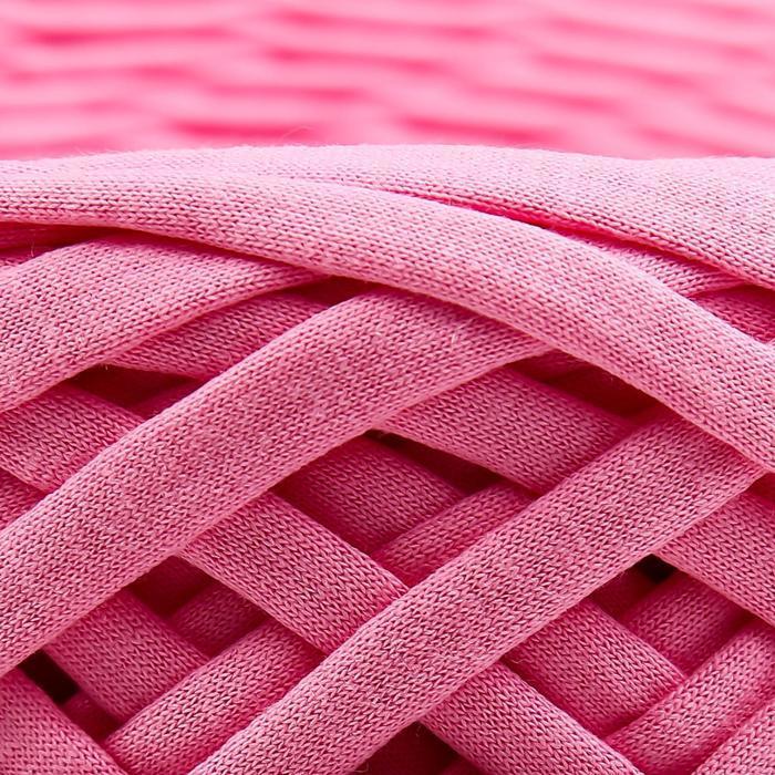 Трикотажная лента 'Лентино' лицевая 100м/320±15гр, 7-8 мм (розовый) - фото 7