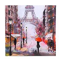 Картина на подрамнике 'Дождливый Париж' 40*40 см