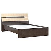 Кровать двуспальная Гавана 1600х2000 венге/дуб молочный