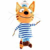 Мягкая музыкальная игрушка 'Коржик', 14 см, Три кота