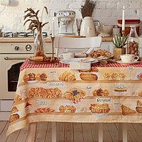 Скатерть 'Этель' Bakery house 220х147 см, 100 хлопок, репс 210 г/м2