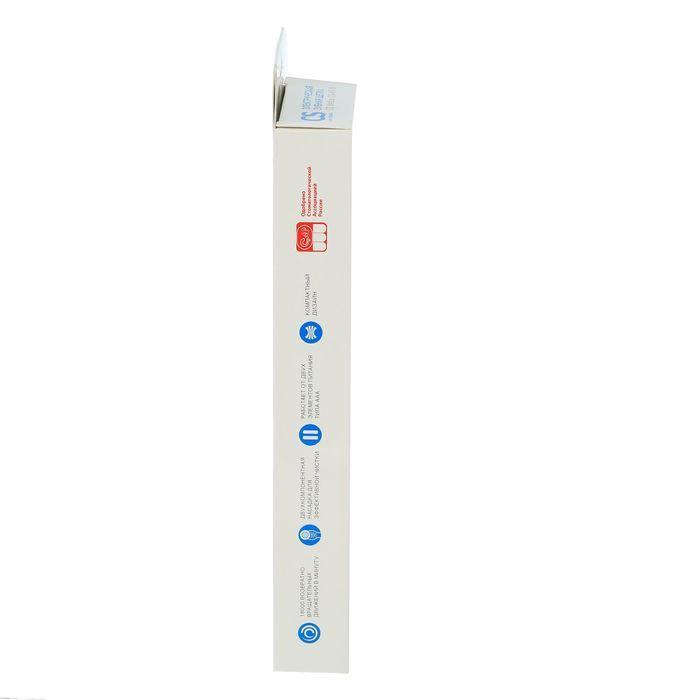 Электрическая зубная щётка CS Medica CS-465-W, звуковая, 18000 дв/мин, 1 насадка, красная - фото 7
