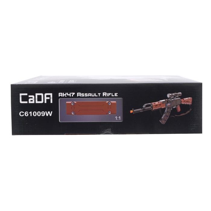 Конструктор модель оружия 'АК-47', 738 деталей - фото 4