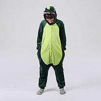 Кигуруми 'Дракон зелёный', рост 130 см