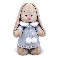 Мягкая игрушка 'Зайка Ми' в трикотажном платье, 25 см