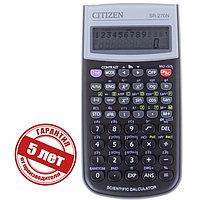 Калькулятор научный 10+2 разрядный, 80x154x14 мм, питание от батарейки, 236 формул, чёрный