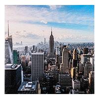 Картина на подрамнике 'Вид на Манхэттен' 40*40 см