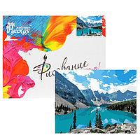 Картина по номерам 'Горное озеро' 40х50 см