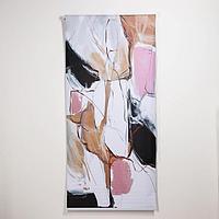 Штора рулонная 'Пастель', 90x200 см (с учётом креплений 3,5 см), блэкаут