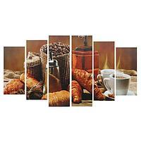 Картина модульная на подрамнике 'Для завтрака' 2-25*57,52-25*74,52-25*84,5, 150*84,5см