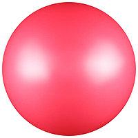 Мяч для художественной гимнастики, силикон, металлик, 15 см, 300 г, AB2803, цвет розовый