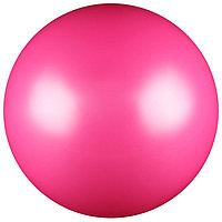 Мяч для художественной гимнастики, силикон, металлик, 15 см 300 г, AB2803, цвет фуксия