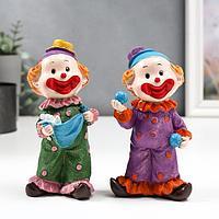 Сувенир полистоун 'Клоун в костюме в горох' МИКС 15,5х7х5 см