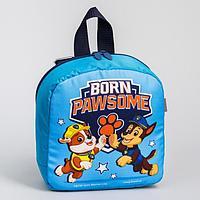 Рюкзак детский, с мигающим элементом, отдел на молнии 'Команда'