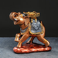 Сувенир 'Слон' бронзовый цвет, 24 см, микс