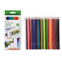 Карандаши художественные цветные 'Сонет', 24 цвета