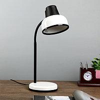 Настольная лампа БЕТАШ E27 60Вт белый гибк.стойка 45см