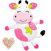 Развивающая игрушка-грелка 'Клубничная Корова'