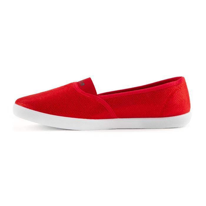 Слипоны женские, цвет красный, размер 40 - фото 2