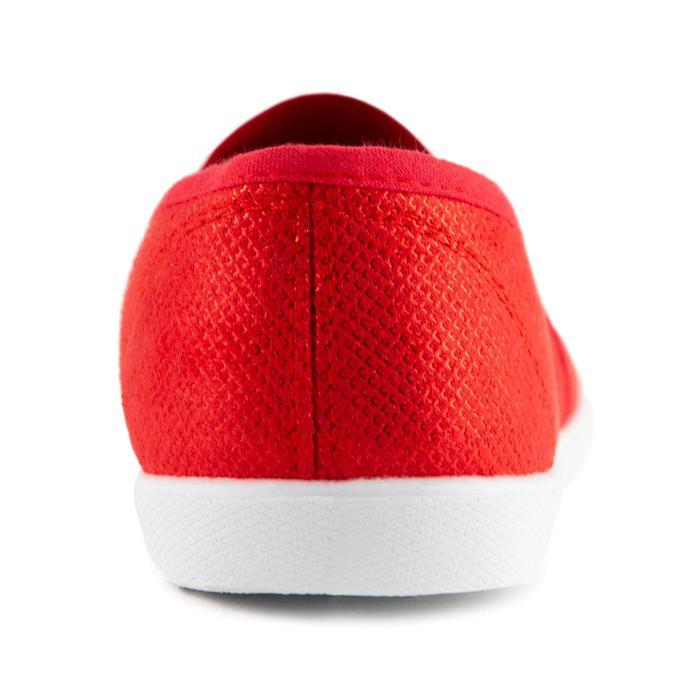 Слипоны женские, цвет красный, размер 40 - фото 3