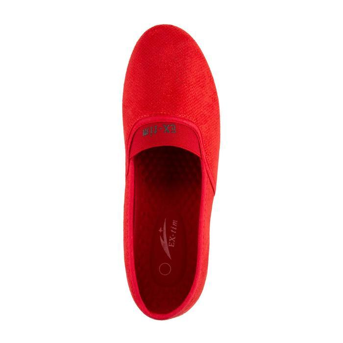 Слипоны женские, цвет красный, размер 40 - фото 4