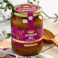 Мёд алтайский гречишный, натуральный цветочный, 1000 г