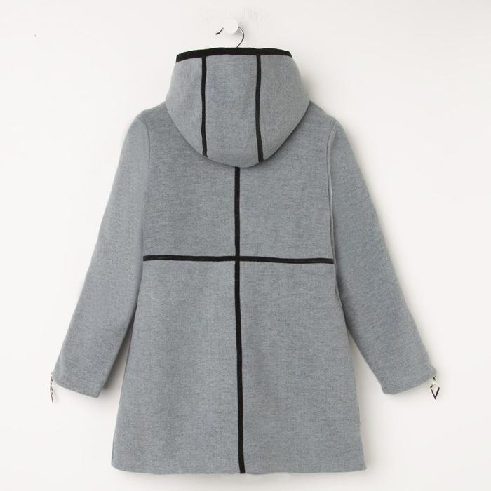 Пальто для девочки, цвет серый, рост 140 см - фото 7