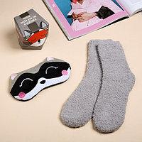Набор 'Енотик' маска для сна, носки one size
