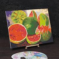 Картина по номерам на холсте с подрамником 'Да здраствует жизнь' Фрида Кало 40х50 см