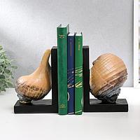 Держатели для книг 'Ракушки' набор 2 штуки 11,5х22х8 см