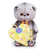 Мягкая игрушка 'Басик BABY с желтым сердечком', 20 см