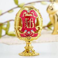 Яйцо-шкатулка 'ХВ' (ангел)